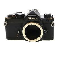 Nikon FM 35mm Film SLR Manual Focus Camera Body, Black - **AI**
