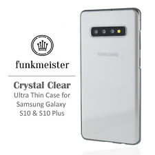 Ultra Thin 0.2mm Clear Hard Case for Samsung Galaxy S10 & S10 Plus | Slim Shell