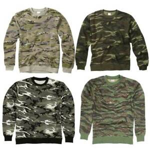 Army Jumper Combat Sweatshirt Tactical Sweater Snow Camo Urban MTP Camouflage