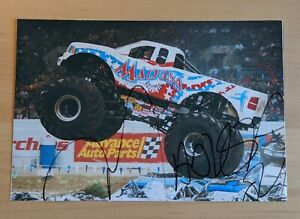 Madusa Monster Truck Signed Photo