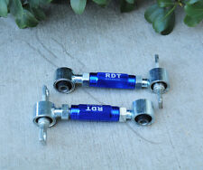 BLUE BILLET ALUMINUM ADJUSTABLE REAR CAMBER KIT FOR 1988-2000 HONDA CIVIC EF EG