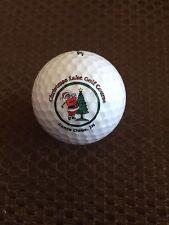 Logo Golf Ball-Christmas Lake Golf Course.Indiana.