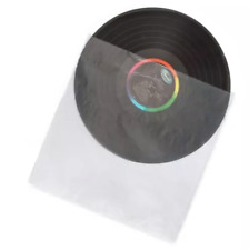 """Anti-Static Plastic Inner Sleeves for Vinyl Records 12"""" inch LP (200 pieces)"""