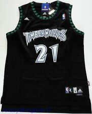d132518830f56 Swingman Basketball Jersey KEVIN GARNETT 21 Minnesota Timberwolves Black  Men NWT