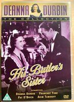 His Butler's Sister DVD 1943 Deanna Durbin Hollywood Comedy Classic
