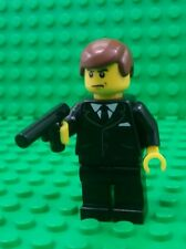 *NEW* Lego James Bond 007 Minifigure Figure Black Gun Fig x 1