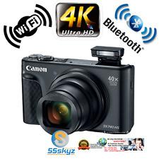 Canon Digital Hs Powershot Sx740 Camera Black 20.3 Mp 40x Zoom Compact Bundle 4K