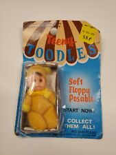 "3"" Teeny Toodles Soft Floppy Posable Doll Yellow Toy Baby Original Kmart Card"