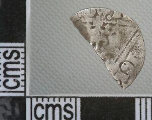 Great Britain Ireland Edward I Half Penny Silver Hammered Coin 1279-1302 Dublin