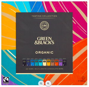 Green & Black's Tasting Collection Organic Chocolate 2 or 3 x 395g BB19/12/21