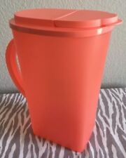 Tupperware Open House Pitcher One Gallon Coral New