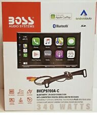 """Boss Audio Systems Double-Din Bvcp9700A-C Multimedia Player 7"""" Touchscreen New"""