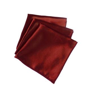 12 Inch Square Satin Napkins (Pack of 50) Cloth Napkin for Dinner Table Decor