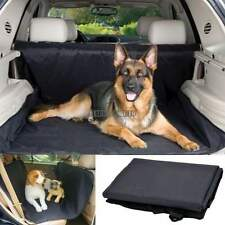 Waterproof Pet Dog Cat Hammock Blanket Car Back Seat Cover Protector Safety Blac