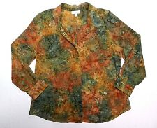 WOMENS blouse SHIRT = DRESBARN = SIZE LARGE = AA33