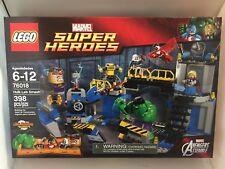 LEGO 76018 MARVEL SUPER HEROES HULK LAB SMASH  FACTORY SEALED MINT BOX