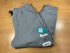 NIKE JORDAN BRAND AIR JUMPMAN MEN'S SWEATPANTS HEATHER GREY XXL 2XL