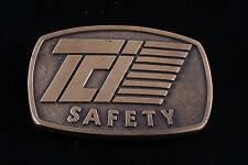 TCI SAFETY BRASS BELT BUCKLE  4105