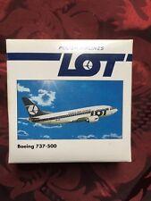 Boeing 737-500 - Modellflugzeug - LOT Polish Airlines - 1:500-Herpa Wings-505406