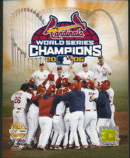 St. Louis Cardinals 2006 World Series Limited Edition 8x10 Photo W/ Toploader