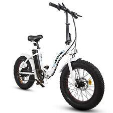 Folding Electric Fat Tire Bike Beach Bicycle City Ebike 20