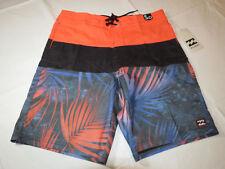 Men's Billabong Lo-Tides board shorts swim surf trunks boardshorts 30 Orange