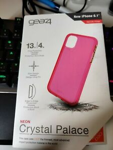 iPhone 11 Protective Case Gear4 Advanced Impact Protection by D3O  – Neon Pink