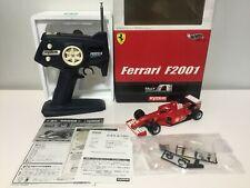 OLD Super Very Rare!! Kyosho MINI-Z F1 Ferrari F2001 #2 READYSET JAPAN MODEL F/S