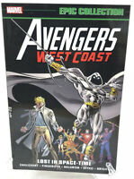 Avengers West Coast Epic Collection Vol 2 Lost In Space-Time Marvel New TPB