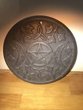 Latex Mould for making This Gothic Style wall Plaque