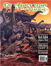 NEW #123 Latest Issue Prehistoric Times dinosaur magazine PT Fall 2017 !!