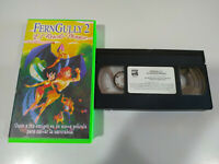 FernGully Fern Gully 2 el Rescate Magico - VHS Cinta Tape Español