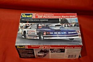 Revell Warren Johnson's 1993 GM Performance Olds Pro Stock Box Cover Only.
