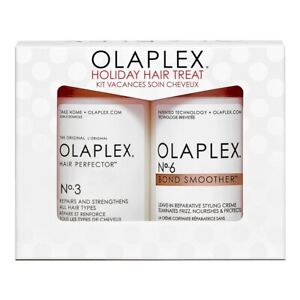 Olaplex Holiday Hair Fit It Kit  No. 3 Hair Perfector  No. 6 Bond Smoother