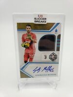 Gianluigi Buffon Limited Relic Auto 1 of 1 Panini Chronicles Soccer One of One!