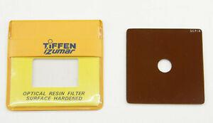 "Tiffen iZumar - 2 5/8"" Square Sepia Center Spot Filter - Fair Glass - C1143"