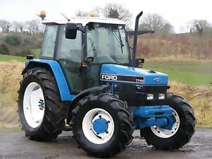 Ford Tractors 40 Series Workshop Manual And Operators Manual - 5640-8340