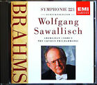 Wolfgang SAWALLISCH: BRAHMS Symphony No.1 Schicksalslied EMI CD 1991 Sinfonie