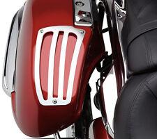 Kawasaki Nomad Voyager 1700 2009-2015 Cobra Chrome Saddlebag Lid Guards Pair