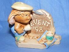 Pendelfin Rabbit Rockafella 1998 Event Piece Boxed Made In England Burnley