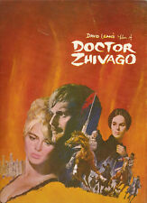 David Lean's Film Of Doctor Zhivago Movie Program c1965