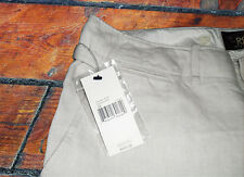 Polo Ralph Lauren Double Rl Rrl sábanas de algodón marfil Pantalones Pantalones Dama $450 +
