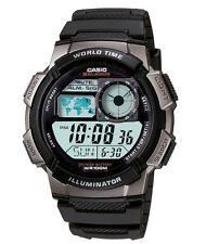 Casio Watch * AE1000W-1BSmart Power Multi Mission LCD Black Silicone COD PayPal