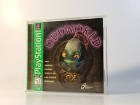 Oddworld: Abe's Oddysee (PlayStation 1, PS1, 1997) VGC Greatest Hits - Complete