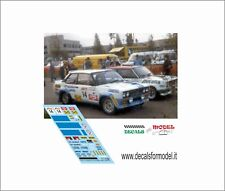 DECAL 1:43  FIAT 131 ABARTH TOIVONEN RALLY FINLAND 1979