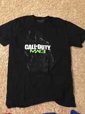 Call Of Duty Man Of War 3 MW3 Video Game T Shirt Adult Large Black