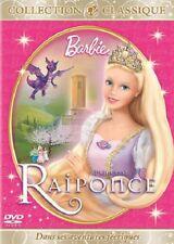 Barbie Princesse Raiponce DVD NEUF SOUS BLISTER