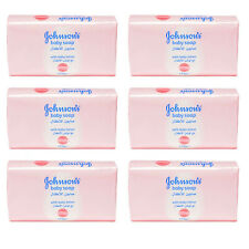 6 X Johnson's Baby Soap 175g with Baby Lotion