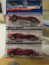 Hot Wheels Lot of (3) Thomassima 3 Types, all different!