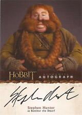 "The Hobbit An Unexpected Journey - A6 Stephen Hunter ""Bombur"" Autograph Card"